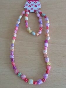 Hello Kitty Necklace and Bracelet set  FREE P & P