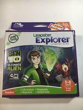 LeapFrog Leapster Explorer Learning Game: Ben 10 Ultimate Alien! New