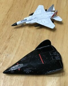 Vintage Stealth Fighter A151 & F15 Eagle Diecast Jet Plane Toy Airplane Lot of 2