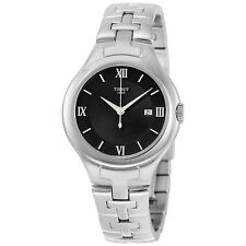 Tissot T-Trend T12 Black Dial Stainless Steel Ladies Watch T0822101105800
