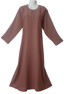 Plain Dubai abaya/jilbab/Burqa with pocket.Soft Nidah fabrice,different colours
