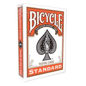 Orange Backed Bicycle Playing Cards  / Deck - Genuine Bicycle + 2 Gaff Cards!