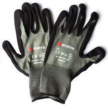 Wurth 0899401070 Nitrile Protective Glove SoftFlex Extremely Comfortable Size 10