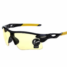 Sunglasses Yellow Bike Cycling Helmet Sun Glasses MTB Mountain Bike night