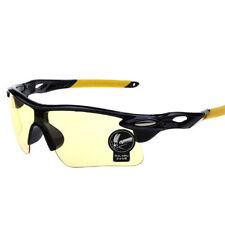 night driving amber sunglasses yellow low light wrap around HD sun glasses dark