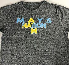 Mays Nation Shirt Adult SZ M/L Dri-Fit Atlanta Georgia High School Raiders Grad
