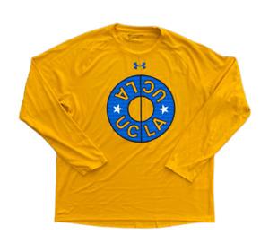 Under Armour Men's HeatGear Loose UCLA Bruins Long Sleeve Athletic Shirt | Large