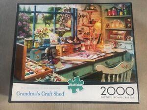 New Buffalo Games Grandma's Craft Shed 2000 Piece Jigsaw Puzzle