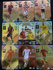 NORDIC ADRENALYN XL PANINI EURO 2020 2021 KICK OFF  SET COMPLETO  18 CARD