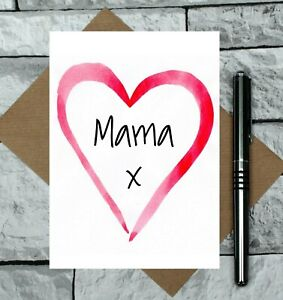 Mama Mother's Day card - Happy Mother's Day Mama - cute Mother's Day Card - mama