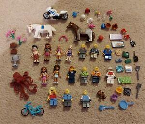 Lego Minifigure Bundle + Accessories