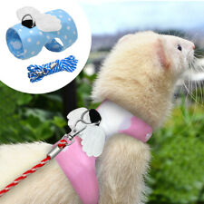 Small Animal Clothes Guinea Pig Ferret Hamster Squirrel Harness and Leash Set