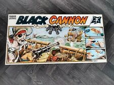 1987 Parker Black Cannon Board Game - Complete and in VGC