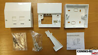 Genuine BT Master Socket vDSL2 /ADSL Phone Filter Faceplate +Box Tool4 Openreach