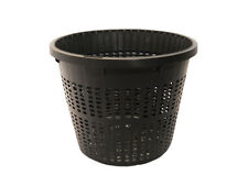 5'' Round Pond Plant Basket Aquatic x 3 pcs Allows Water Flow thru Pond Plants