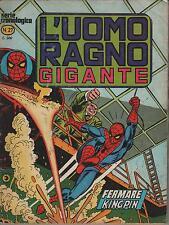 L'UOMO RAGNO GIGANTE #  27  FERMARE KINGPIN !  editoriale corno 1978