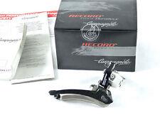 Campagnolo Record Front Derailleur Titanium & Carbon 28.6 Road Racing Bike NOS
