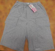 NWT Funky Diva Dance Hip Hop Baggy Fit Shorts Pants Heather Grey Medium Adult