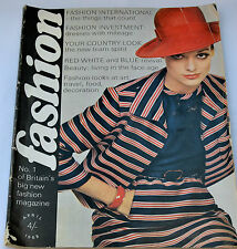 VINTAGE Fashion Magazine 1968 60s