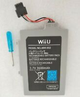 New Extended Battery Pack for Nintendo WiiU Gamepad 3600mAh 3.7V Rechargeable