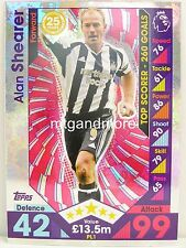 Match Attax 2016/17 Premier League -  PL1 Alan Shearer - Player Legends