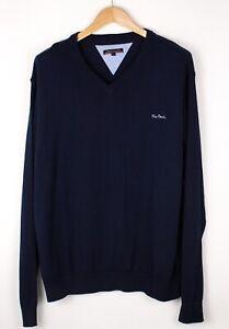 PIERRE CARDIN Men Casual Knit Sweater Jumper Size XL ATZ359