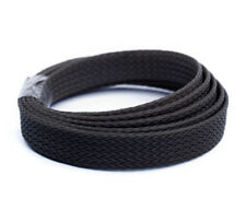 EXPANDABLE SLEEVING BLACK BRAIDED FLEXIBLE CABLE SLEEVING POLYESTER 8mm  BH8