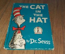 Cat In The Hat Dr. Seuss Book Club Edition I Can Read It By Myself Beginner HC