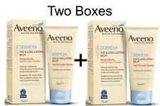 2 x Aveeno Dermexa Fast and Long LastingBalm 75ml For Very Dry Itchy Skin