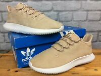 ADIDAS MENS UK 7 EU 40 2/3 BROWN TAN TUBULAR SHADOW TRAINERS RRP £75  T