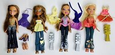 Bratz Passion 4 Fashion Dolls Lot Sasha, Cloe, Yasmin