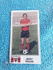 Panini Football 77 Foot 1977 Rennes Stade Rennais Jerzy Willim 297
