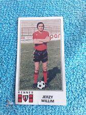 Panini Football 77 Foot 1977 Rennes Stade Rennais Jerzy Willim 297