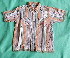 100% Baumwolle Gestreifte Jungen-T-Shirts,-Polos & -Hemden mit Kurzarm-Ärmelart für Freizeit