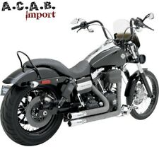 Echappements Python Throwbacks 41759 pour Dyna FXD Harley 2012 2017