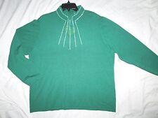 NEW! REBA $98 tags size 3X emerald green plus size womens sweater top bling shir