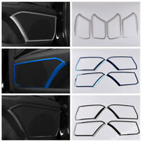 Door Stereo Speaker Audio Decoration Frame Cover Trim For Toyota Camry 2018-2021