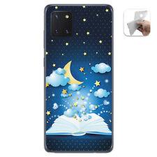 Funda Gel Tpu para Samsung Galaxy Note 10 Lite diseño Libro Cuentos Dibujos