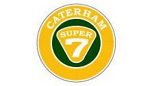 10cm! Auto-AUFKLEBER-STICKER-UV&Waschanlagenfest Caterham Logo bunt Farbe AD081