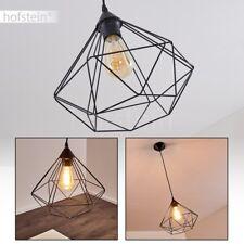 Lampe à suspension Lustre Lampe pendante noire Plafonnier Retro Lampe de séjour