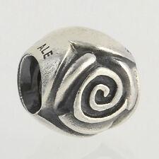 NEW Genuine Pandora Charm - Sterling Silver Silver Rose 790394 ALE 925 Pendant
