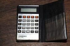 Vintage - Antigua calculadora HANIMEX LC 777A