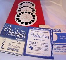 View Master The Christmas Story with Booklets & 3 Reels 1948 Religious