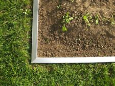 Broad Lawn Edging 14 cm high Metal Border with Click-Fix-System