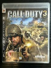 PS3 - Call of Duty 3 (COD) World War II Game (WW2)**New & Sealed** UK Stock