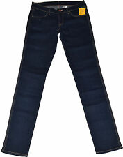 Indigo -/dark-washed H&M Damen-Jeans aus Denim