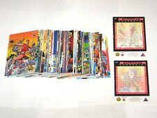 1993 Valiant Era Complete 120 trading card base set comic cards by Upper Deck