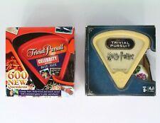Trivial Pursuit Bite Size Celebrity Edition & Harry Potter
