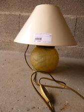 Lampe de chevet verre dépoli art déco