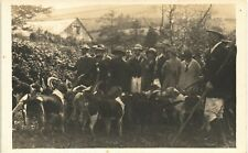 Bradiford near Barnstaple. Hunt. Hounds Group.
